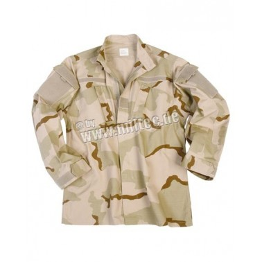 veste ACU (army combat uniform) ripstop 3 color desert