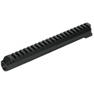Rail pour gaz tube galil Icar ICS MG-34