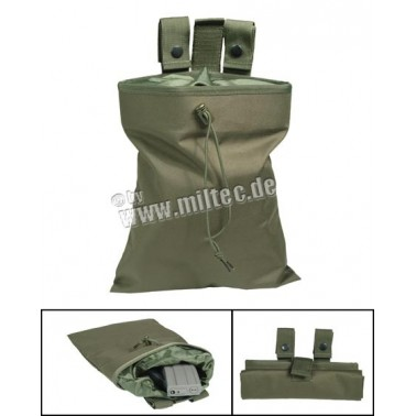 empty shell pouch olive mil-tec