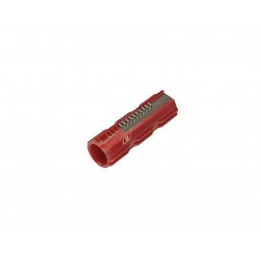 Piston polycarbonate rouge 10 demi dents renforcés m190 ultimate 17167