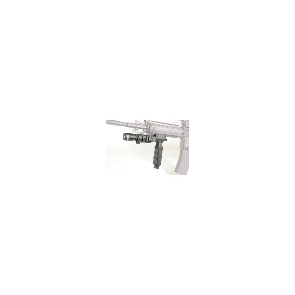 Poignee verticale porte lampe 25.4mm avec bouton swiss arms 263905