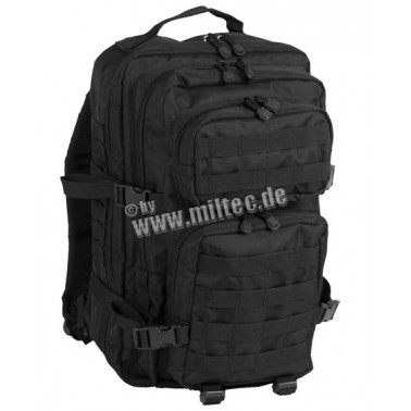 Sac us assault noir 50L miltec