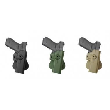 Holster rigide gaucher Glock 17 g17/22/31 IMI Z1010lh