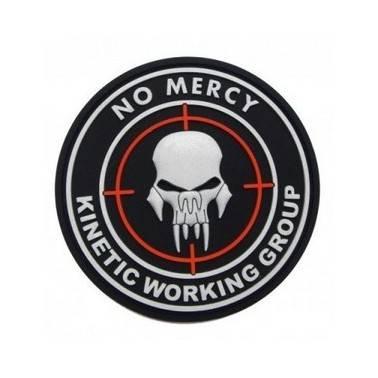 Patch 3d velcro no mercy noir