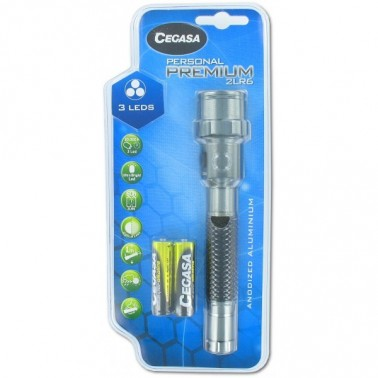 lampe torche premium 3 leds Cegasa 104169