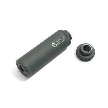 Silencieux g&g ss-100 noir avec adaptateur 14mm horaire / anti horaire