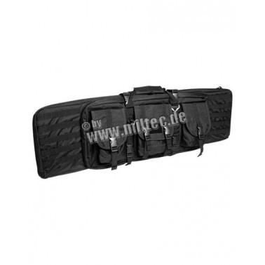 Housse fusil noir 105x27x7cm
