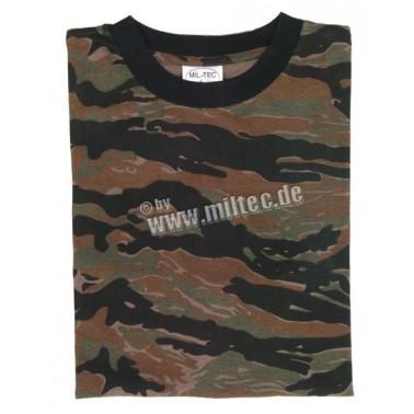 T-shirt tiger stripe miltec