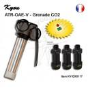 Grenade recuperable ATR-OAE-v (+ pack de 3 coques)