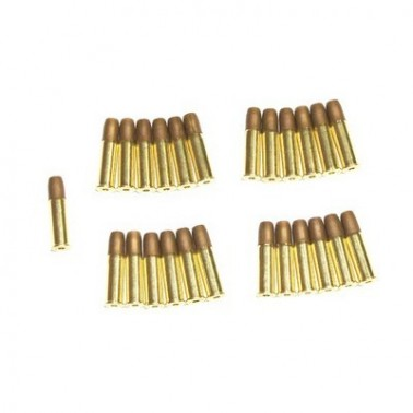 Lot de 25 douilles DAN WESSON 16549