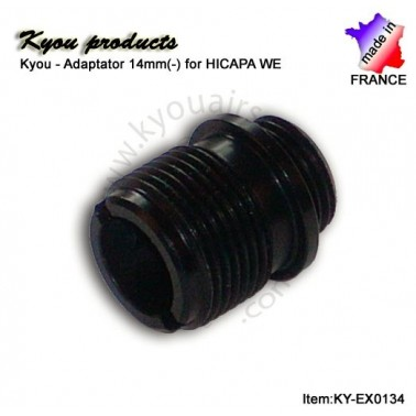 adaptateur 14mm (-) pour P.A. WE