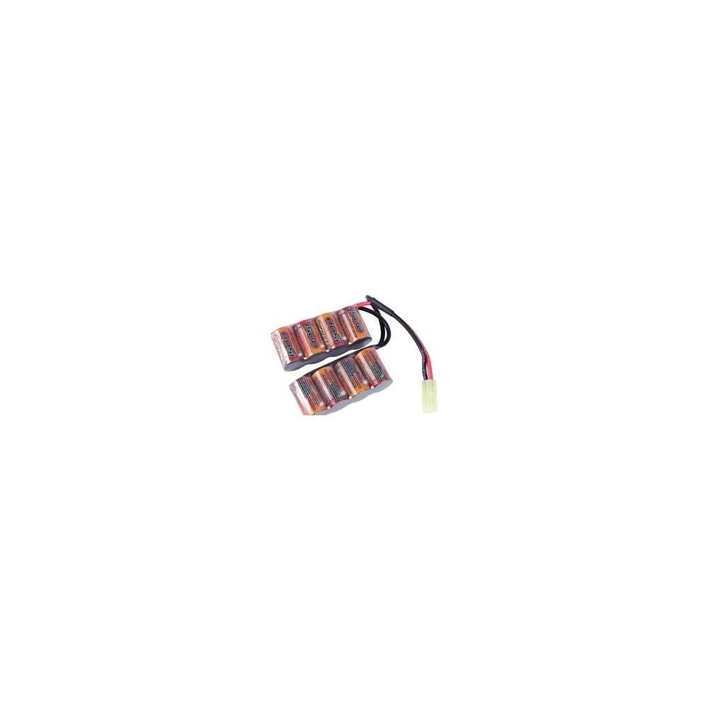 Batterie pour gr4 g26 9.6v 1500mah g&g
