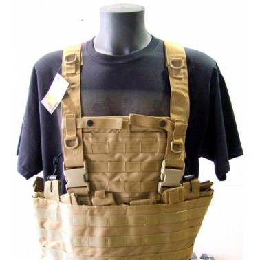 gilet tactique MOLLE tan swiss arms 604033