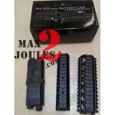 Kit king arms  ris pour m4 + boitier batterie
