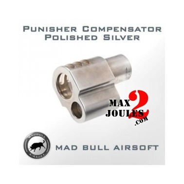 adaptateur punisher chrome pour 1911 MadBull