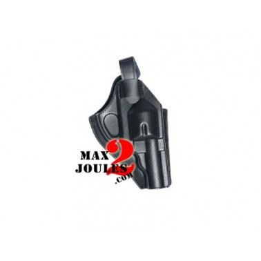 "Holster ceinture noir Dan Wesson 2.5"" et 4"" strike 17349"