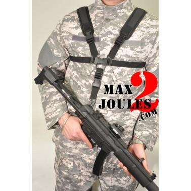 harnais ventral noir pour fusil 603644