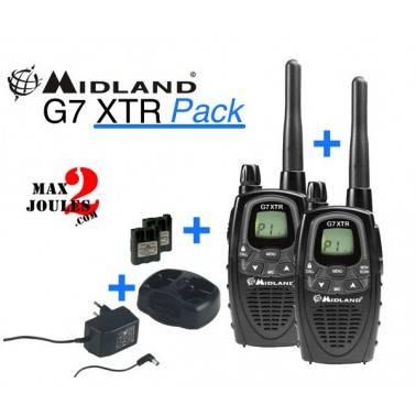 Radio midland G7 XT lot de 2 talkies