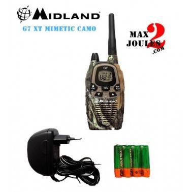 RADIO MIDLAND G7 pro mimetic camo
