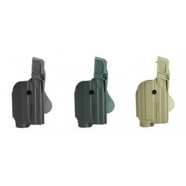 Holster rigide pour glock  avec lampe  IMI z1600