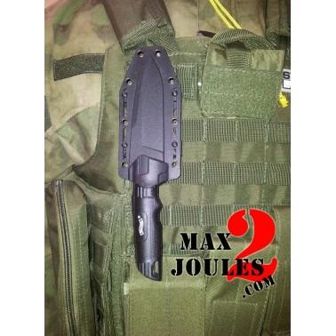 couteau walther backup + etui ceinture ou molle rigide 5.0720