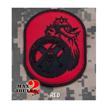 patch scratch pvc berserker rouge