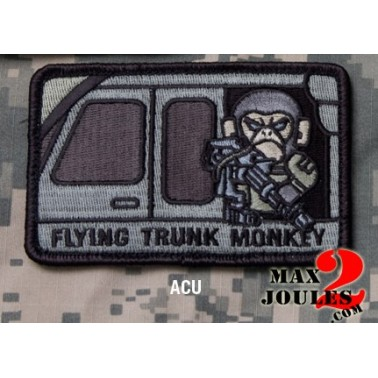 patch scratch flying trunk monkey ACU