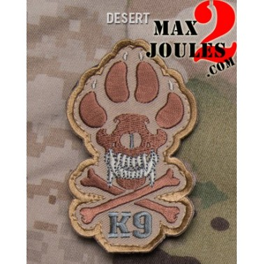 patch velcro K9 desert