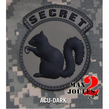patch velcro pvc secret squirrel acu