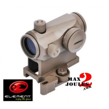 red dot T1 demontage rapide tan element OS5014T