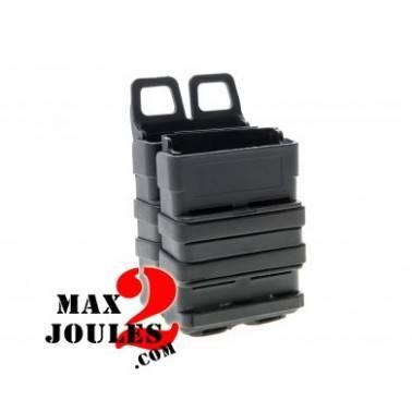 porte chargeurs (lot de 2 simple) molle Fast mag friction gen 3 noir