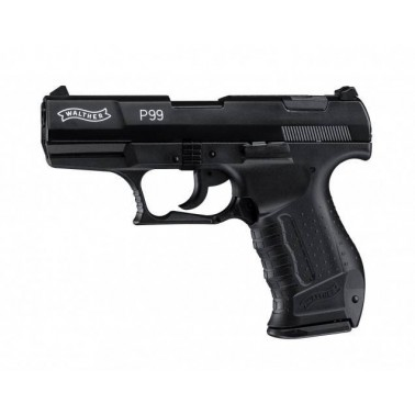 Walther P99 9mm PA a blanc
