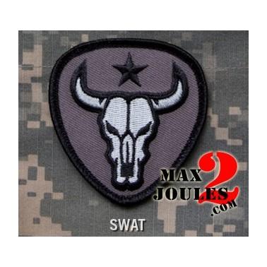 patch velcro bull skull swat