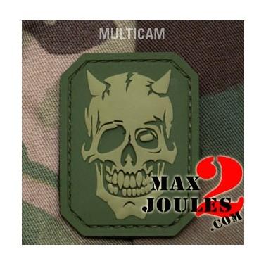 patch velcro MM devil skull multicam