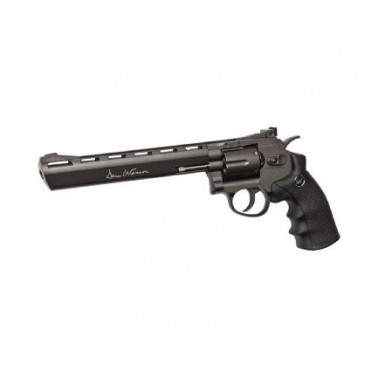 "dan wesson metal 8"" co2 noir 328 fps 17477"