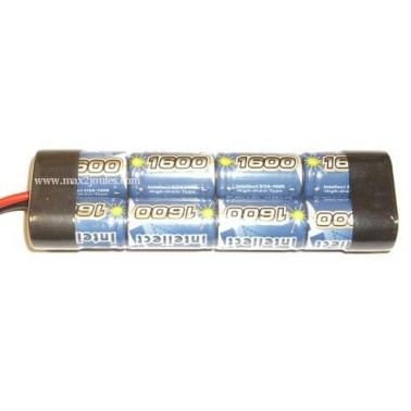 bATTERIE MINI 9.6V 1600mah 603241