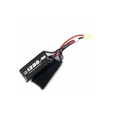 Batterie LIPO A2A 7.4v 1200mAh 30c twin