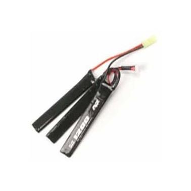 Batterie LIPO A2A 11.1v 1200mAh 25c stick triple 693015