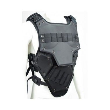 gilet tactique armure transformer 3 Noir