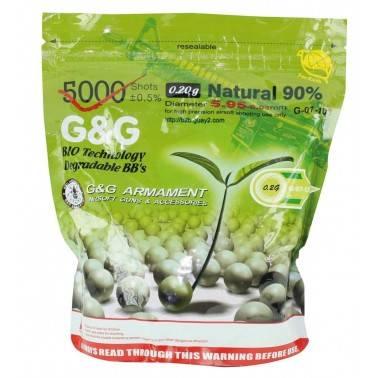 sac billes bio G&G 0.23g 4350bb's