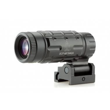 Magnifier 3x UTG avec flip to side