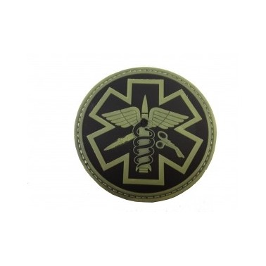 patch paramedic noir et phosphorescent 240324