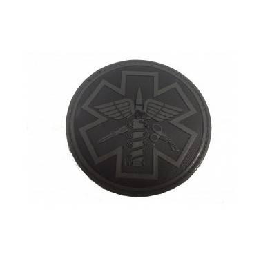patch paramedic pvc noir 240321