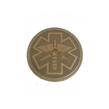patch paramedic pvc tan 240322