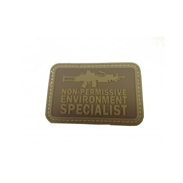 patch velcro pvc specialist tan