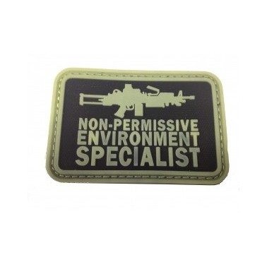 patch velcro pvc specialist phosphorescent