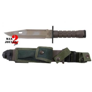 veritable couteau baillonnette m9 vert