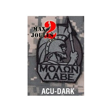 patch scratch molon labe multicam monkey msm-p-013-acud