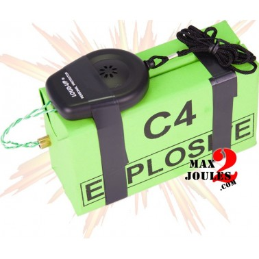 bombe BZ14 bloc de C4 avec mine filaire 110db