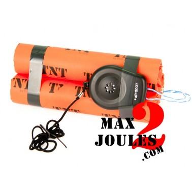 bombe BZ15 batons TNT avec mine filaire 110db